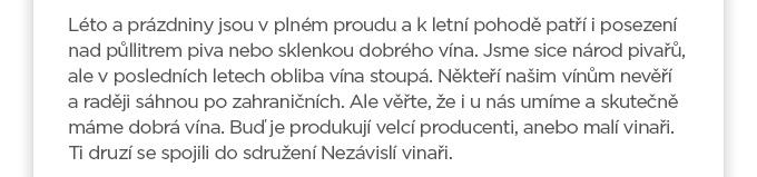 Nezávislí vinaři