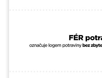 Občanské sdružení FÉR potravina, z.s. - ČTEME ETIKETY ZA VÁS!