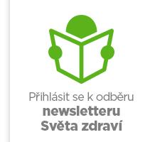 Přihlásit se k odběru newsletteru Světa zdraví